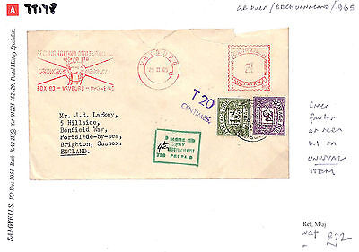 TT178 1965 Vryburg South Africa/GB Dues/Bechuanaland/