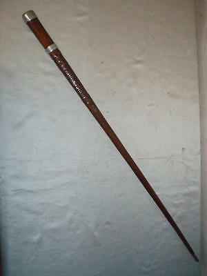 WW1 Trench Art Treen Wooden Walking Cane  WELTKRIEG - (Beautiful Hand Carved)