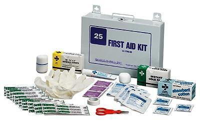 First Aid Kit- Emergency 25 Person  1 EA