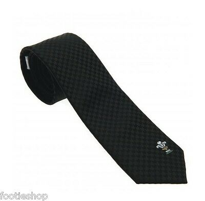 Wales Rugby Welsh RU Tie New Official Merchandise (SK)