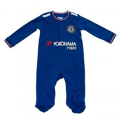 Official Licensed Football Club Chelsea Sleepsuit 6/9 Months RW Babygrow Gift