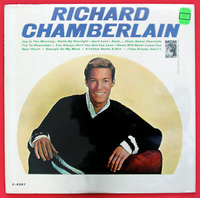 RICHARD CHAMBERLAIN Joy In The Morning / SEALED Mono LP / 1965 / Dr. Kildare
