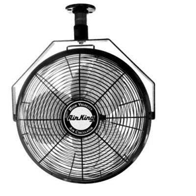"""Air King 9320 20"""" 1/6 HP Industrial Grade High Velocity Ceiling Mount Fan"""