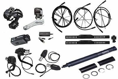Shimano Ultegra 6870 Di2 Electronic 11 Speed Road Bike Build Kits + TT Lever