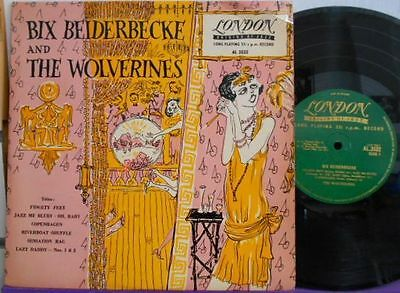 BIX BEIDERBECKE & The WOLVERINES 10'' LP LONDON UK MINT UNPLAYED !!