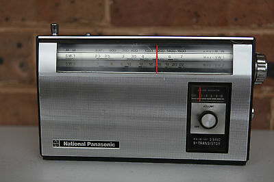 National Panasonic R-309 3 Band Radio