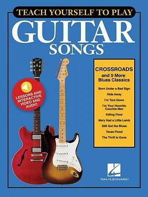 Teach Yourself to Play Crossroads & 9 More Blues Classics - Guitar 000152183