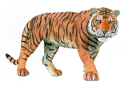 FREE SHIPPING | Papo 50004 Tiger Realistic Animal Model Replica - New in Package