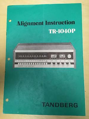 tandberg service manual for the tr 1040 p receiver alignment rh picclick com Tandberg MXP tandberg ttc7-08 instruction manual