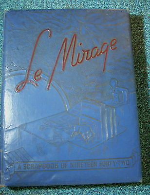 """Yearbook - WEST TEXAS STATE UNIVERSITY 1942 """"LE MIRAGE"""" CANYON TEXAS"""