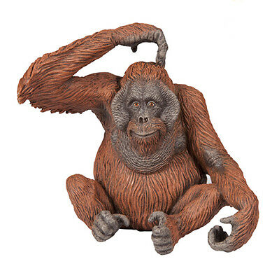 FREE SHIPPING | Papo 50120 Orangutan Toy Wildlife Replica - New in Package