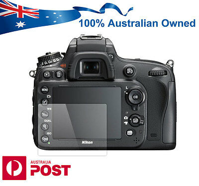 Pro Tempered Glass Screen Protector for Nikon D7200 D7100 D610 DSLR Camera AUS