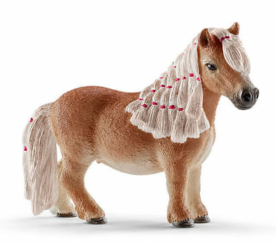 FREE SHIPPING | Schleich 13776 Min Shetland Pony Mare Toy Horse - New in Package