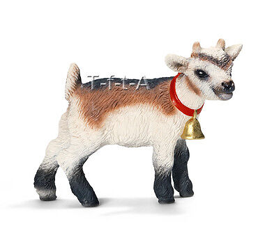 FREE SHIPPING | Schleich 13720 Domestic Goat Kid Toy Figurine - New in Package