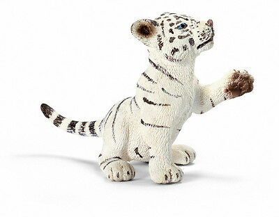 FREE SHIPPING | Schleich 14385 White Tiger Cub Playing Replica - New in Package