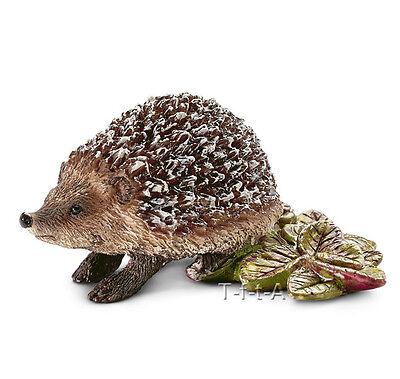 FREE SHIPPING | Schleich 14713 Hedgehog Wild Forest Animal - New in Package