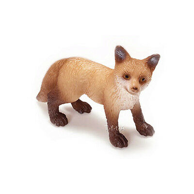 FREE SHIPPING | Schleich 14649 Red Fox Kit Toy Figurine - New in Package