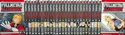 Fullmetal Alchemist Box Set (Vol. 1 - 27) English Manga Graphic Novels NEW