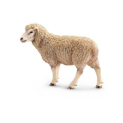 FREE SHIPPING | Schleich 13743 Sheep Model Farm Animal - New in Package