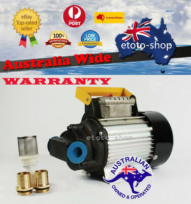 240V Diesel Biodiesel Oil Transfer Fuel Gear Pump Heavy Duty