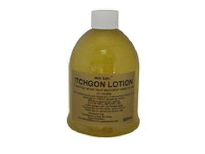 Gold Label Itchgon Lotion Dry Flakey Itchy Skin, Sweet Itch, With Neem Oil 500ml