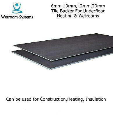 Tile Backer Board 6mm & 10mm Insulation Board for underfloor heating