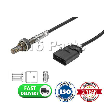For Seat Arosa 1.0 8V 1997- 4 Wire Front Lambda Oxygen Sensor Direct Fit Exhaust