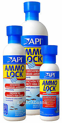 Api Ammo Lock Ammonia Instant Protection Detoxify Healthy Aquarium Fish Tank