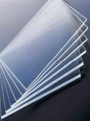 CLEAR PETG Sheets 1250mm by 2050mm Cut to Size All Thickness PLASTIC SHEETS