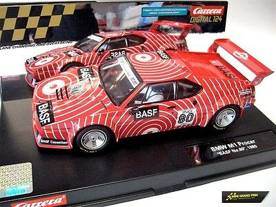 "Carrera Digital 124 BMW M1 Procar ""BASF No.80"", 1980 23821"