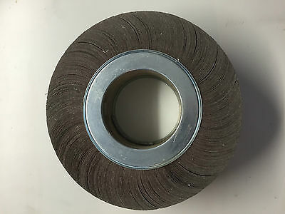 Bibielle 350 x 100 x 132mm 240 Grit Flap Wheel RF0418