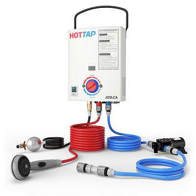 Hottap Outing Portable LPG Gas Hot Water Heater System Camper Caravan Camping