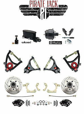 1965-68 Chevy Impala Disc Brake Kit & Wilwood Caliper/ 4 Piece Control Arms