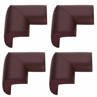 4 Safety L- Shape Foam Furniture Corner Protectors Purple/Maroon - By TRIXES