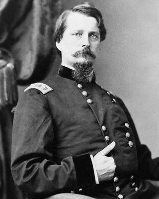 US Union Army General WINFIELD SCOTT HANCOCK Glossy 8x10 Photo Civil War Poster
