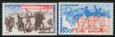 Senegal 1975 US Bicentennial set Sc# C141-42 NH