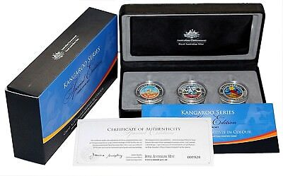 "2009 Kangaroo Series "" Special Edition "" 3 Coin Set No : 1928"