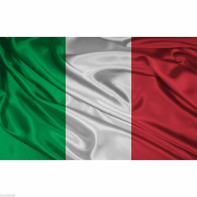 ITALIAN ITALY ITALIA NATIONAL LARGE 5 x 3FT FANS SUPPORTERS FLAG PREMIUM QUALITY