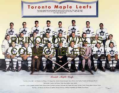 1952 Toronto Maple Leafs Team Photo 8X10