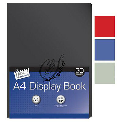 A4 Display Book Presentation Folder 20 Pockets -1412