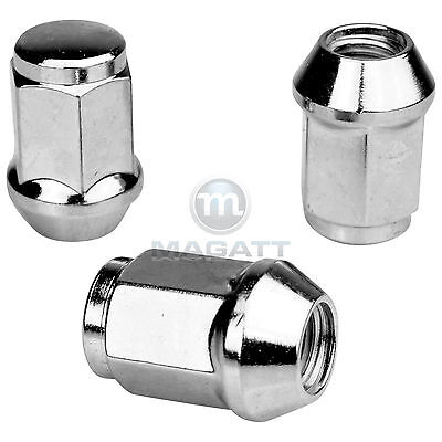 20 CHROME WHEEL NUTS FOR ALUMINIUM RIMS FORD SCORPIO/Maverick incl. Escape /