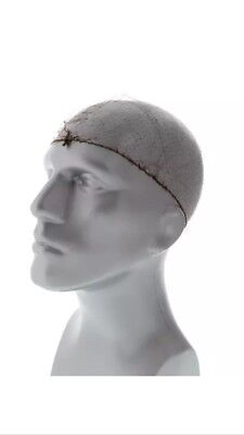 """24"""" Light Weight Hairnet Latex Free, Packs of 144 by Royal Light Brown"""
