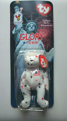 Mcdonald's Ty Beanie Babies 1999 Glory The Bear