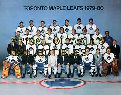 1980 Toronto Maple Leafs Team Photo 8X10