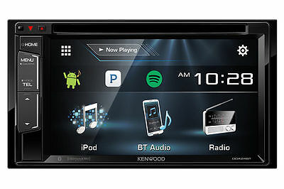 NEW Kenwood DDX23BT 2 DIN DVD/CD Player Android iPhone App Pandora Bluetooth