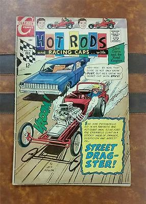 HOT RODS and RACING CARS COMIC No.93 SILVER DEC 1968 12c * STREET DRAGSTER