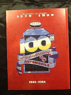 The greater Los Angeles Auto Show 100th anniversary 1886-1986