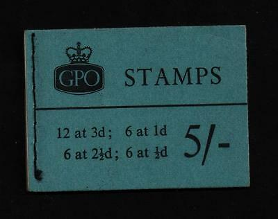 H45   5/-  STITCHED BOOKLET July 1960 Crown