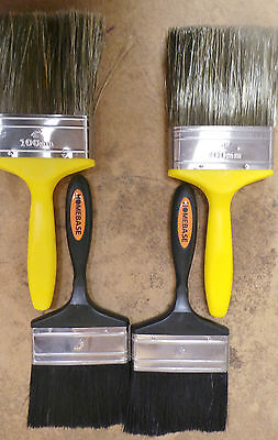 """Joblot Paint Brush Brushes x 83 Harris 4"""" inch Quality Clearance Stock"""