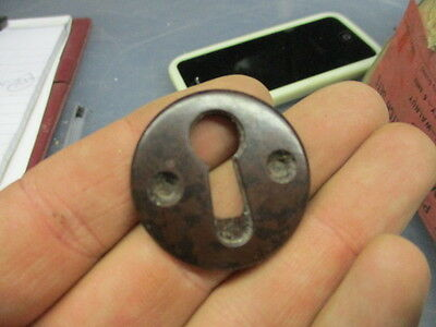 Original Bakelite Keyhole Plate Escutcheon Art Deco 1930's  Antique Vintage Old